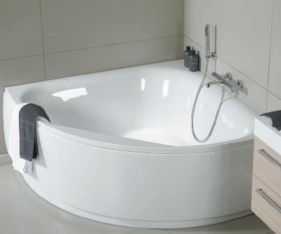 Профессиональная установка угловой ванны фото